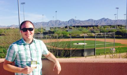 Jeffrey Wiser at Salt River Fields